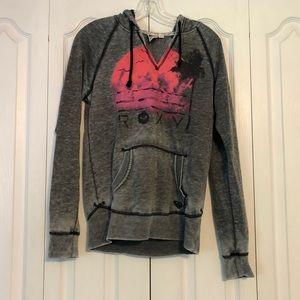Roxy gray sweatshirt